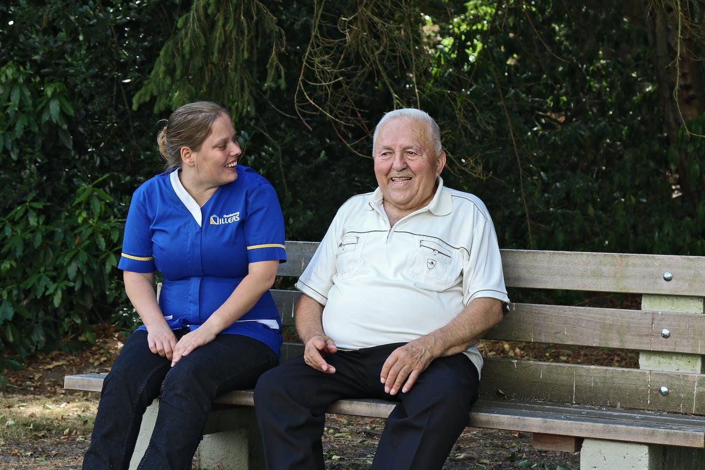 werken als verzorgende ouderenzorg