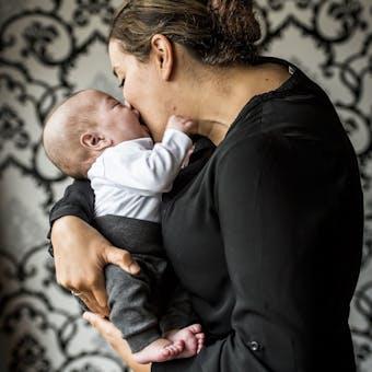 Mama met baby